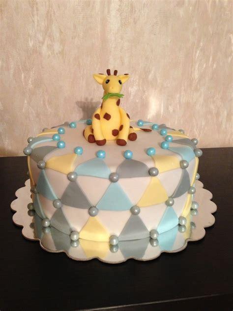 giraffe baby shower decorations for boy baby boy shower cake giraffe theme baby shower ideas