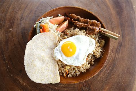 nasi goreng pandawa delicious food and cocktails at roosterfish beach club