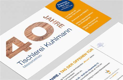 tischlerei kuhlmann grafikb 252 ro wilk bielefeld einladungkarte