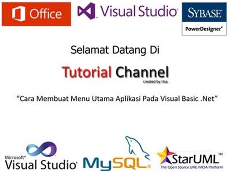 tutorial membuat visual novel quot tutorial cara membuat menu utama aplikasi pada visual