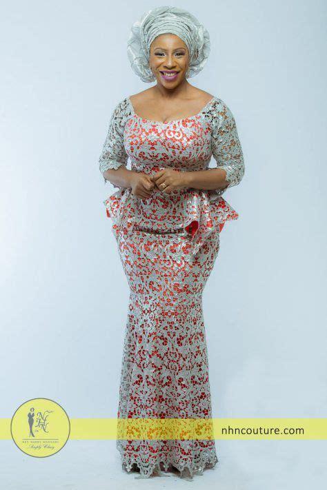 naija lace styles silver and coral asoebi style inspiration nhn my