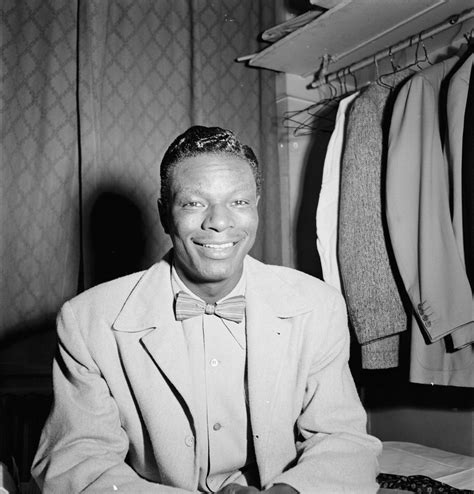 Mat King Cole by File Nat King Cole Paramount Theater New York N Y Ca