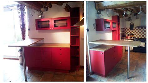 meuble snack cuisine une cuisine modernis 233 e gr 226 ce 224 un ensemble de meubles sur