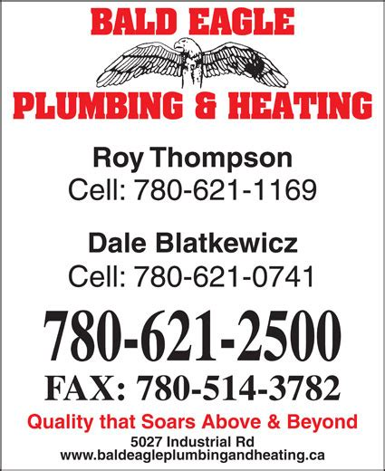 Thompson Plumbing And Heating by Bald Eagle Plumbing Heating Roy Thompson Cell