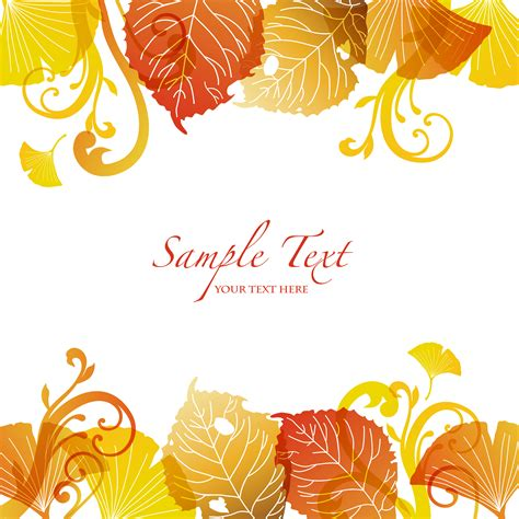 Leaf Daun Paper Flower Isi 12 Pcs 19 fall background vector images fall leaves background
