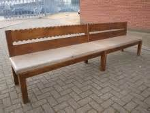 second hand benches second hand bench seating