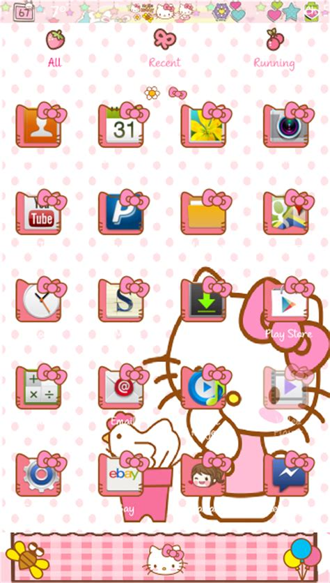 go launcher themes hello kitty apk pretty droid themes hello kitty v2 go launcher theme