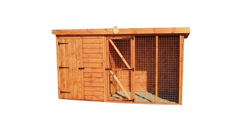 kennel and run pent kennel and run earnshaws fencing centres
