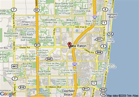 boca raton map map of renaissance boca raton boca raton