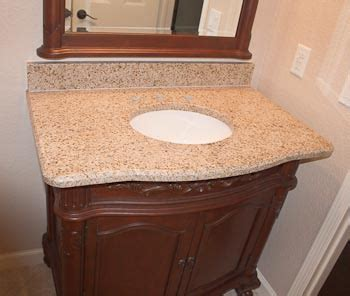 Bathroom Vanity With Granite Top Vanity Tops Granite Crushed Marble Cultured Marble