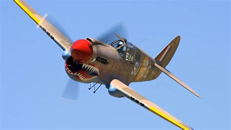 wwii curtis p40 warhawk fighter fighter hd wallpaper and background image 1920x1080 id 108659