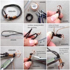 Tali Jam Handmade Simple tutorial membuat gelang jangkar koleksikikie