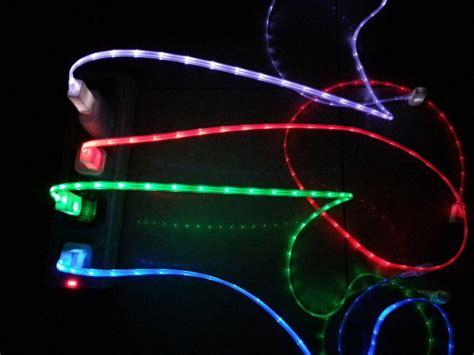 Charger Led Kabel Data Led led usb smartphone ladekabel datenkabel micro mini 1m ledkauf24 de led ambiente und