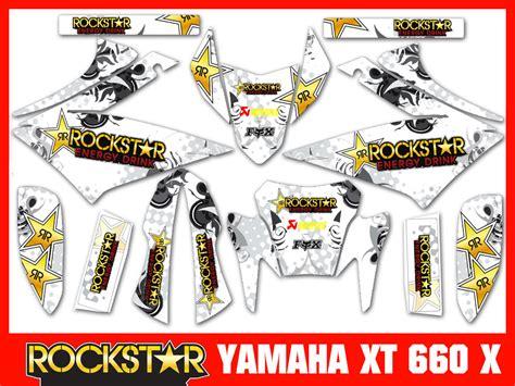 Yamaha Xt 660 Aufkleber Set by Yamaha Xt 660 X Rockstar Full Dekorsatz Stickers