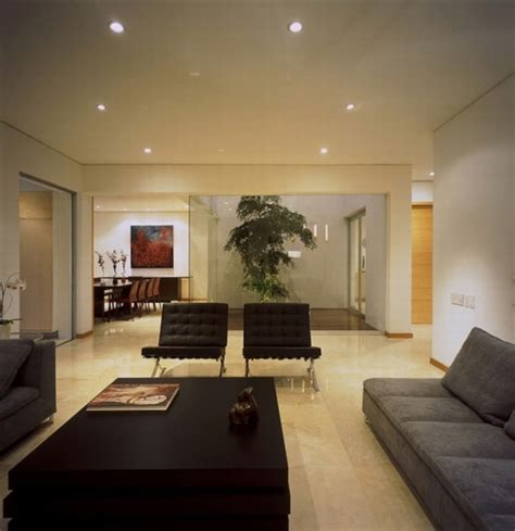 house design inside living room modern tropical house in guadalajara mexico archian
