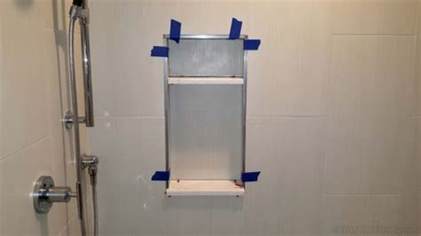 Bath Shower Base how to design a preformed foam recessed shower niche