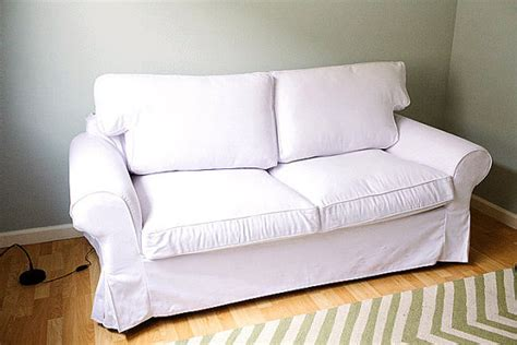 Ikea Ektorp 2 Seater Sofa Bed Custom Ikea Ektorp Sofa Bed Cover 2 Seater In Gaia White