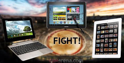 Tablet Samsung Vs Asus tablet wars reloaded apple 3 vs samsung galaxy note 10 1 vs asus transformer pad infinity