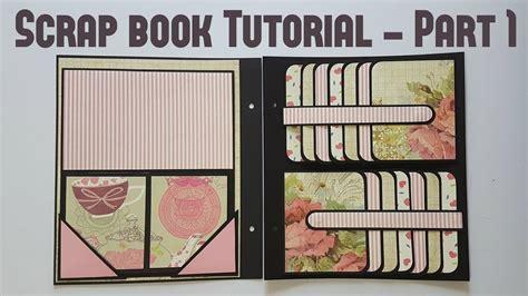 best books on primative scrap crafts scrap book tutorial part 1 by srushti patil