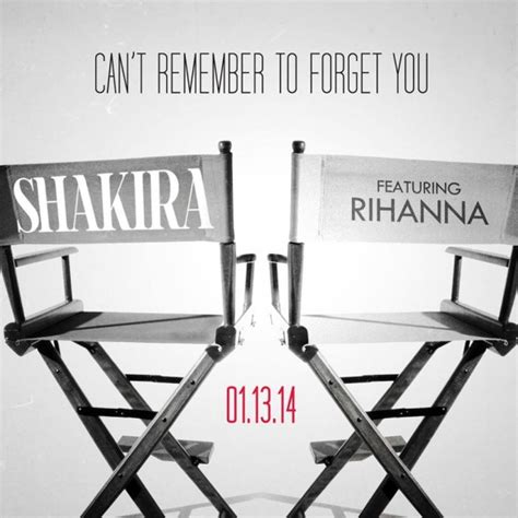 can t remember to forget you testo shakira e rihanna can t remember to forget you