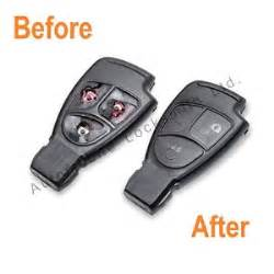 Key Of Mercedes Mercedes Key Fob Repair Ebay