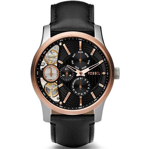 montre fossil mechanical twist me1099 montre multifonctions homme sur bijourama montre