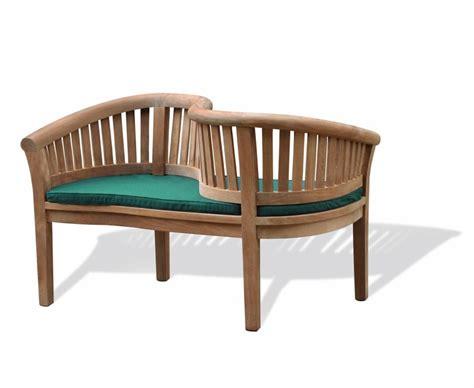 love benches teak garden love seat love bench