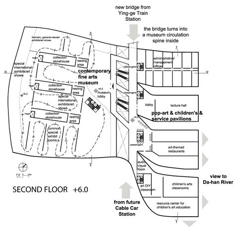 floor plan details of city museum architecture layout dwg file gallery of new taipei city museum of art proposal design