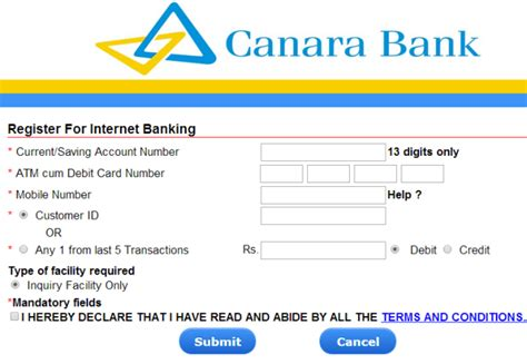 Canara Bank Letterhead Format Application Letter For New Bank Account