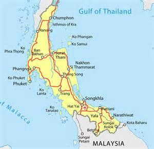 south map map tourism