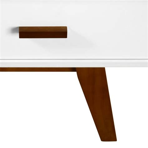 Retro White Coffee Table Retro White Coffee Table With 4 Drawer Storage Buy Tables
