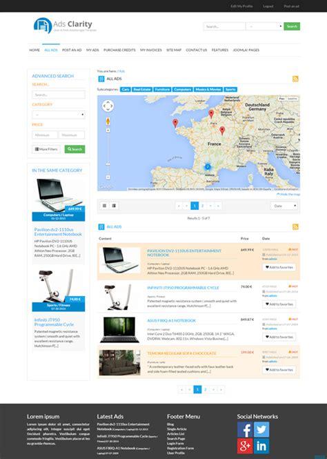 joomla classifieds template classified ads software joomla classifeld extension