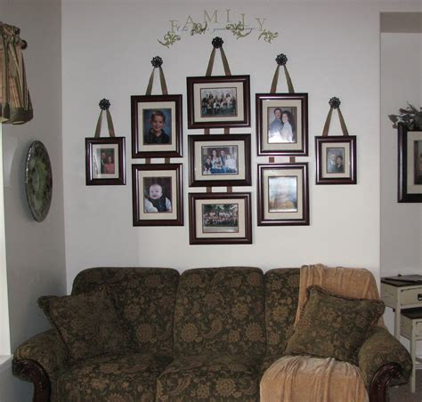 inspiring wall decorating ideas of photos family house