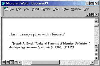 mla format footnote citation research paper mla footnotes