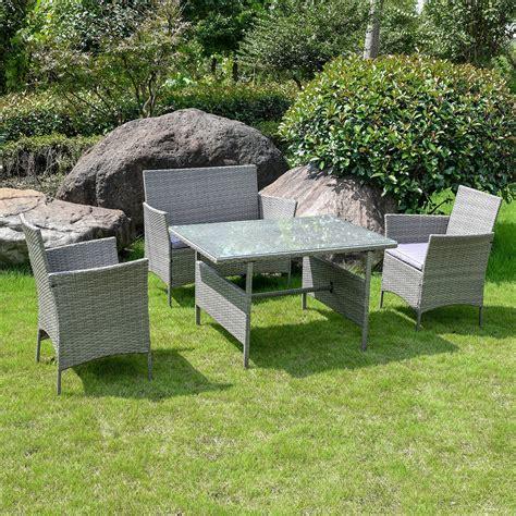 toulon rattan garden furniture set  piece home store