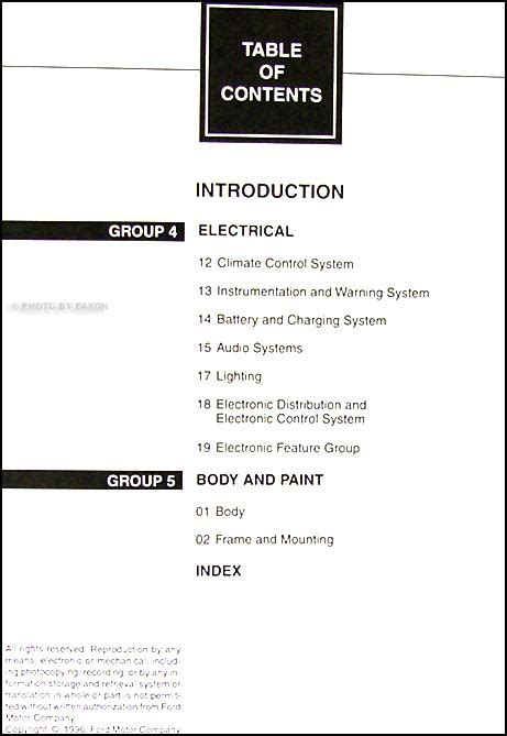 1997 lincoln mark viii repair shop manual original 2