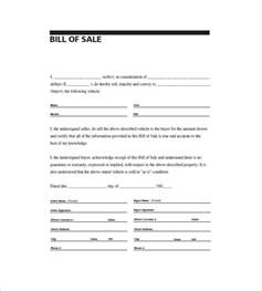 free printable bill of sale template free general bill of sale template print paper templates