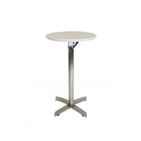 White Bar Table White Top Bar Table Chair Hire Co