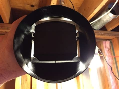 bathroom exhaust fan backdraft der installing an exhaust fan during a bathroom remodel