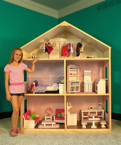 girls doll houses country french doll house for 18 quot american girl dolls