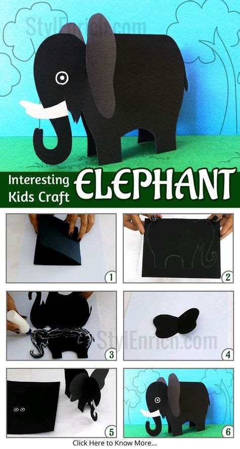 How To Make Animals Out Of Construction Paper - 1000 ideas about easy paper crafts on crafts