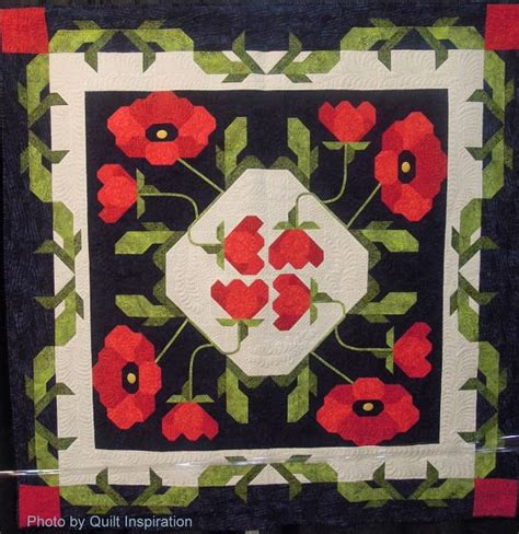 Poppy Quilt Pattern by 17 Best Images About Anzac Quilts And Stuff On Poppies Quilt And Poppy Fields