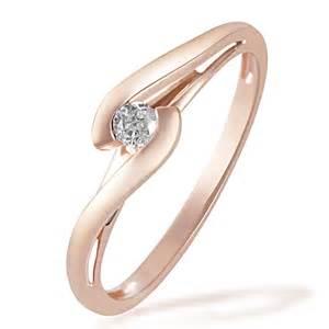 wo trã gt einen verlobungsring goldmaid damenring solit 228 r verlobungsring 585 rotgold 1 brillant 0 08 ct ebay
