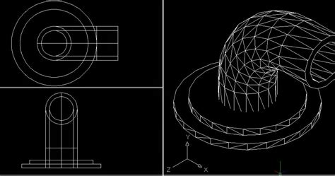 tutorial menggambar 3d dengan autocad 2007 penggunaan perintah extrude 3d di autocad 2007 belajar