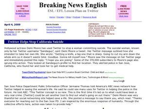 breaking news english english news readings level 5 breaking news english twitter helps stop california