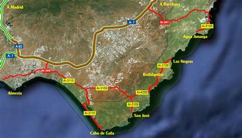 como llegar a cabo de gata how to get to almeria cabo gata natural park spain