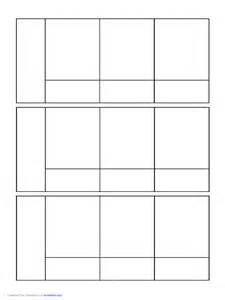 Comic Book Panel Template by Comics Pages 20 Free Templates In Pdf Word Excel