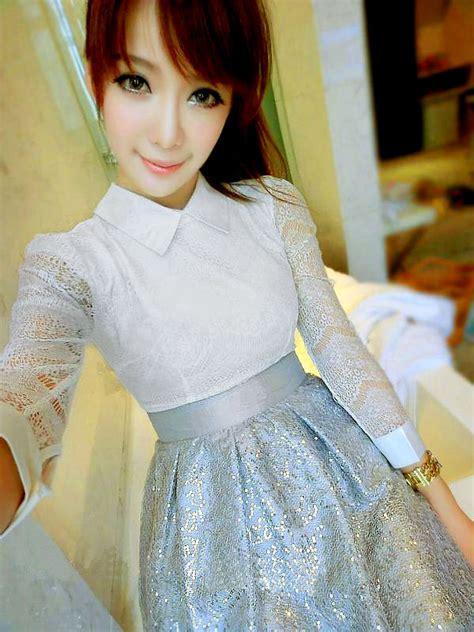 tutorial make up ke pesta ala korea til menawan dengan gaun wanita terbaru toko baju