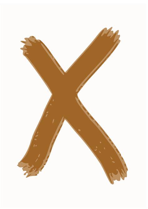 So X clipart x