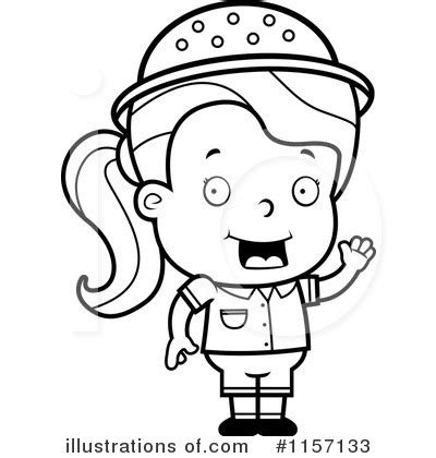 safari person coloring page free coloring pages